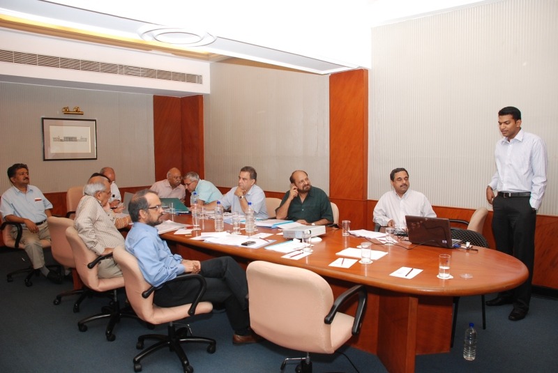 Sanjay & KCC during NAC meeting